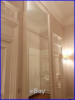 4 Frontons de porte, style XVIIIe. Largeur 100 cm