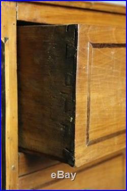 ANCIENNE COMMODE STYLE LOUIS XVI merisier & marqueterie EPOQUE XVIIIeme