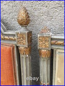 Anciens cadres de lit boiseries anciennes style louis xvi antique french bed