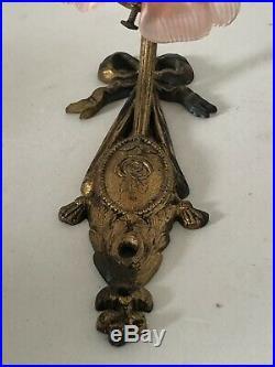 Applique En Bronze Style Louis XVI décor noeud de ruban