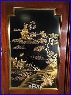 Armoire style Louis XVI laque Chine
