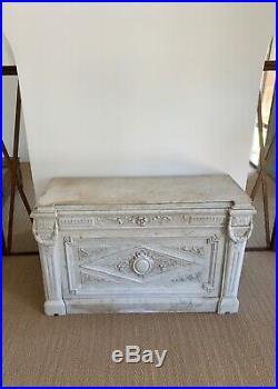 Autel En Marbre XIXe Style Louis XVI