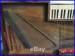 BRESSLER Ancien PIANO 1810 Cadre Bois Style LOUIS XVI Intrument Musique Mobilier