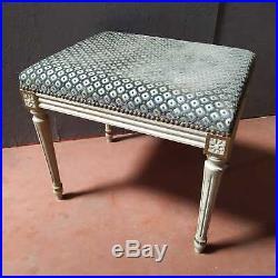 Belle Banquette / Bout de lit de style Louis XVI