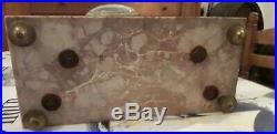 Belle Pendule 4 Colonnes Marbre Et Bronze Style Louis XVI XIXÈME Clock Pendulum