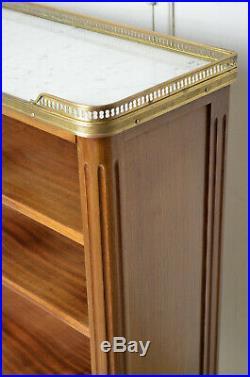 Bibus de Style Louis XVI en acajou