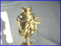 Bougeoir En Cassolette En Bronze Style Louis XVI 19 Eme Siecle Bon Etat