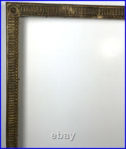 Cadre Ancien En Bois Sculpté De Style Louis XVI Pour Peinture 64 CM X 52 CM