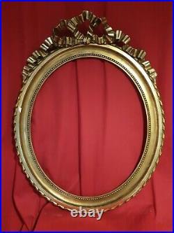 Cadre Ancien doré style Louis Louis XVI époque 1900