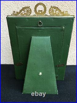 Cadre photo bronze style louis XVI