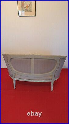 Canape Corbeille De Style Louis XVI Patine XIX Siecle