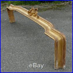 Cantonnière bois doré époque XIXe, Style Louis XVI ancien