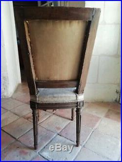 Chaise Style Louis XVI Époque XVIIIème