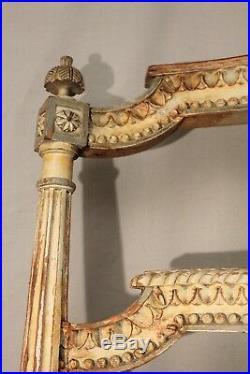 Chaise de musicien tournante de style Louis XVI époque XIX ème siècle