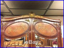 Chambre à coucher style Louis XVI bronzes dorés 1900