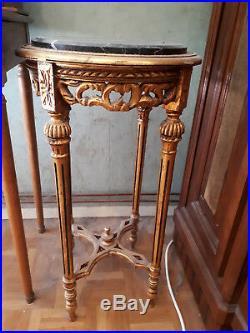Console Style Louis XVI Dessus Marbre