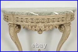 Console style Louis XVI bois laqué
