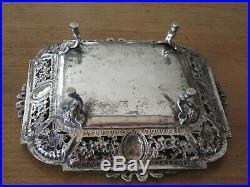 Coupe Sur Pieds Argent Massif Style Louis XVI Solid Silver Fruit Cup