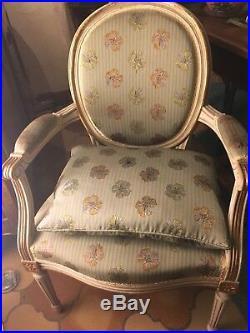 Fauteuils Médaillon Style Louis XVI (1 X Paire)