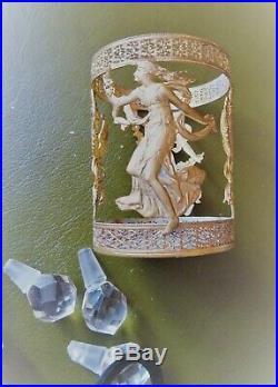 Flacons à sels anciens style Louis XVI époque Napoléon III