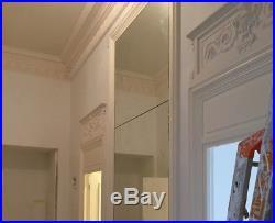 Fronton de porte + jambages 14 cm style XVIIIe siècle réédition