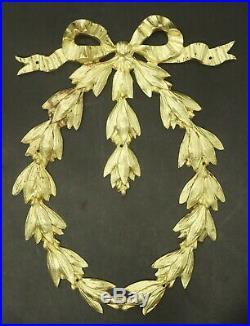 GRAND ORNEMENT, STYLE LOUIS XVI, DU XIXe BRONZE 24,2 cm 2 disponibles