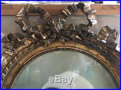 Grand Cadre doré à noeud, style LOUIS XVI, Sarah Bernhardt