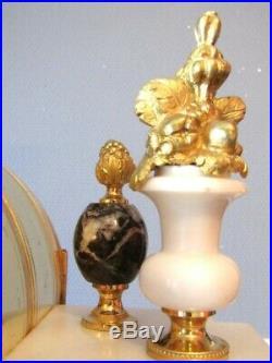 Grande Pendule Style Louis XVI Napoléon I Pendule en bronze, Empire, clock
