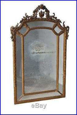Grande glace pareclose style Louis XVI 1900