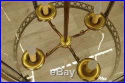 Grande lanterne style Louis XVI en bronze