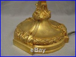 Grande paire de candélabres style Louis XVI bronze doré signés Jollet époque XIX