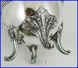 Hénin, pichet à lait argent massif Minerve, de style Louis XVI, 309 g