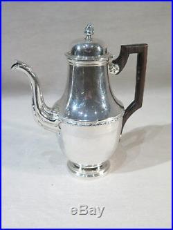 Lagriffoul & Laval Ancienne Verseuse Cafetiere Argent Massif Style Louis XVI