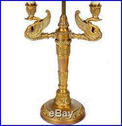 Lampe Bouillotte De Bureau Style Empire Napoleon Louis XVI Belle Epoque