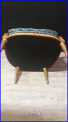 Large Bergère à Oreilles De Style Louis XVI