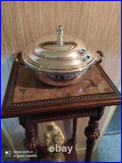 Légumier Orfèvrerie Ercuis Style Louis XVI Métal Argenté