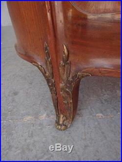 Lit acajou de style Louis XVI bronze doré