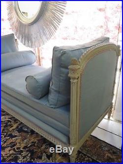Lit d'appoint / banquette de style Louis XVI époque fin XIX