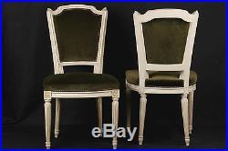 Lot de 6 chaises de style Louis XVI / Set of 6 chair Louis XVI style