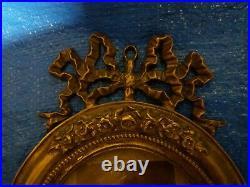 Magnifique Paire De Cadres Photos En Bronze- Style Louix. Xvi-epoque Napoleon III
