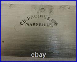 Ménagère de couteaux de style Louis XVI, viroles argent massif, monogramme CC
