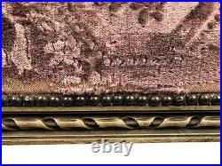 Milieu de duchesse brisée de style Louis XVI, bois laqué gris