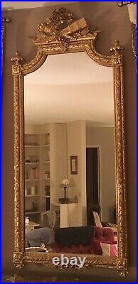 Miroir Ancien Style Louis XVI