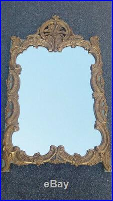 Miroir De Style Louis XVI En Bois Doré
