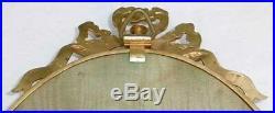 Miroir Triptyque cadres en Bronze ou Laiton de style Louis XVI