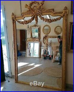 Miroir XIX de style Louis XVI