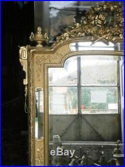 Miroir à parcloses de style Louis XVI