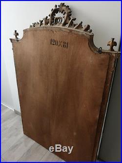 Miroir biseauté style Louis XVI