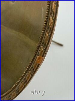 Paire De Cadres Ovale En Bronze XIX Eme Style Louis XVI Napoleon III H3073
