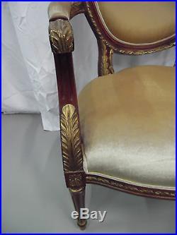 Paire De Fauteuils De Style Louis XVI